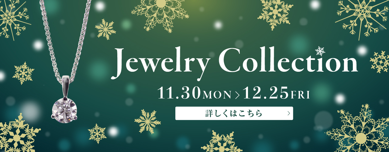 Jewelry Collection 11.30MON-12.25FRI
